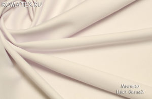 Ткань new милано цвет белый